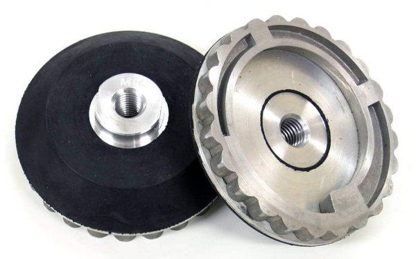 Snail Lock - M14 Aluminium Back-Up Pads