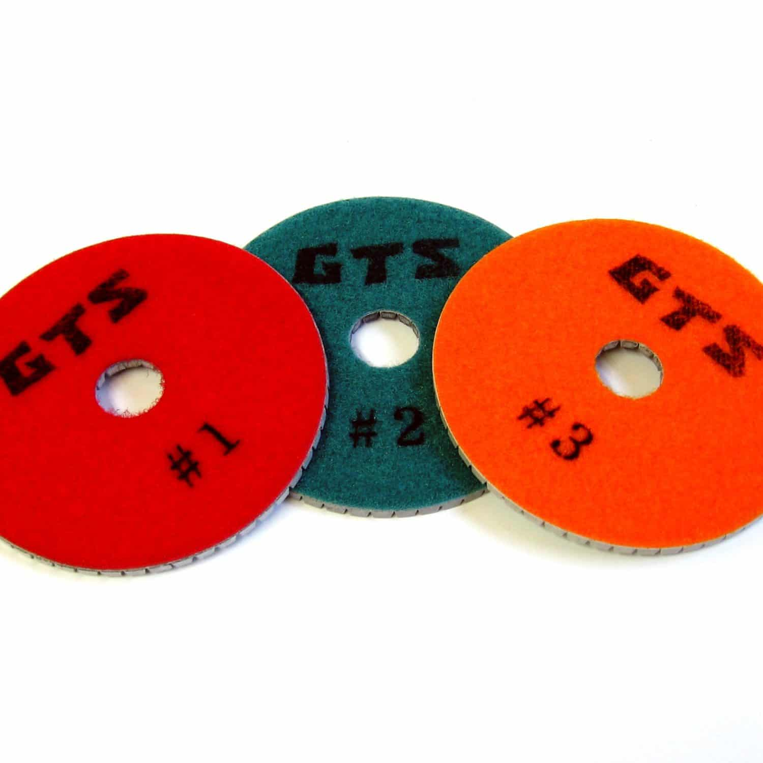 3 Step Polishing Discs