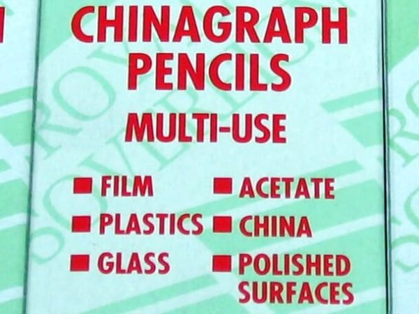 Chinagraph Pencils