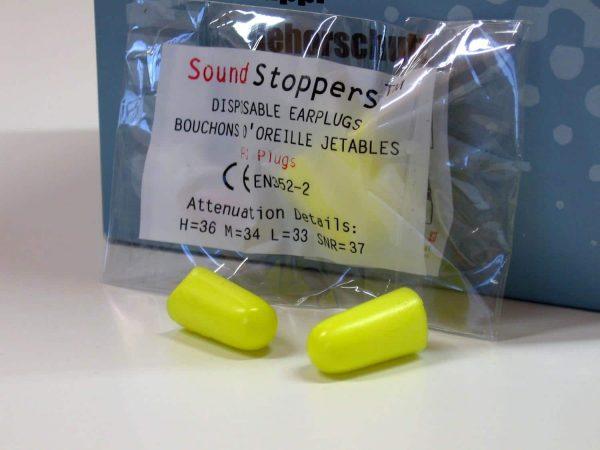 Sound Stopper Ear Plugs
