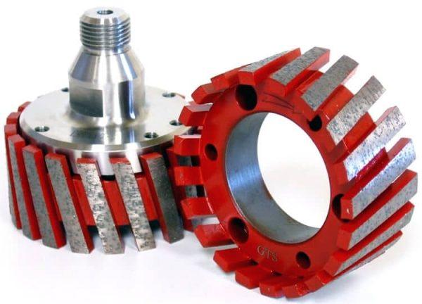 Recessed Drainer Stubbing Wheel